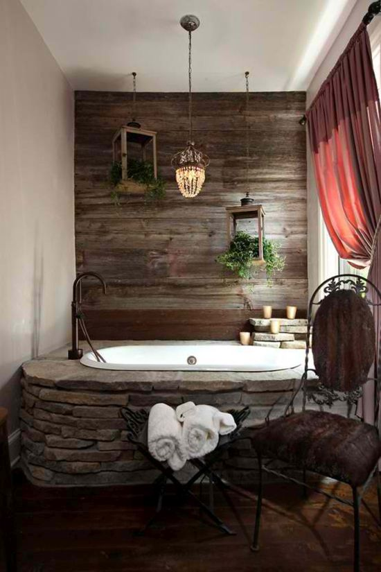 Wood Bathroom Decorating Ideas ~ Luxurious master bathroom ideas ultimate home