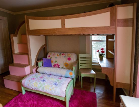 Vintage Kids Bunk Beds