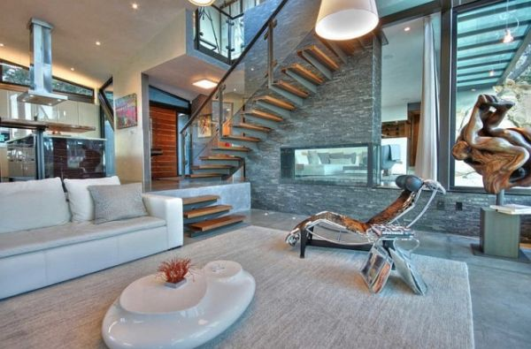 Sunken Living Rooms