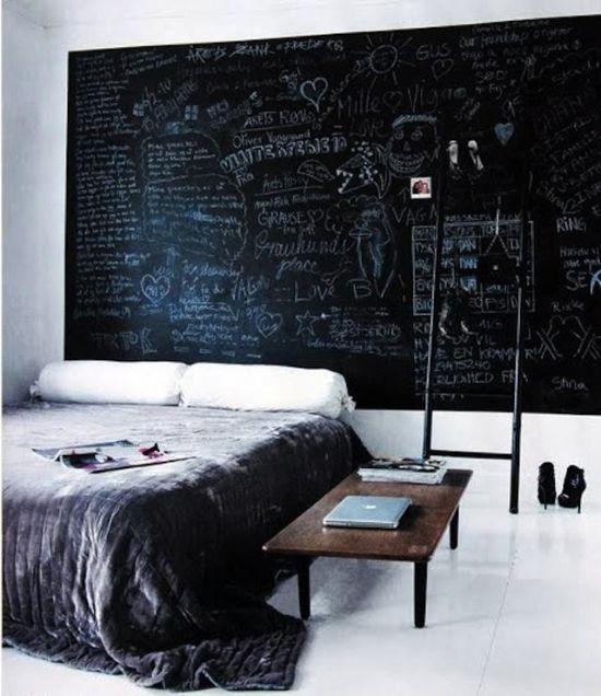 Chalk Board Paint Ideas Music Room