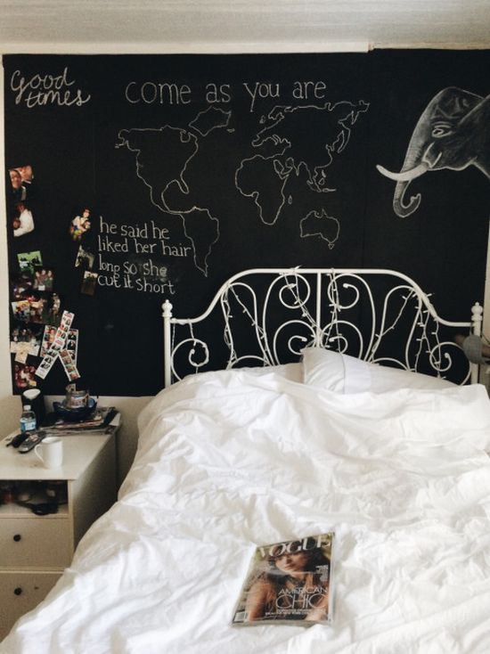 How To Paint A Bedroom Wall With Chalkboard Paint