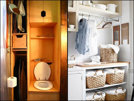 Unique Bathroom Closet Design. Wardrobe Closet Ideas
