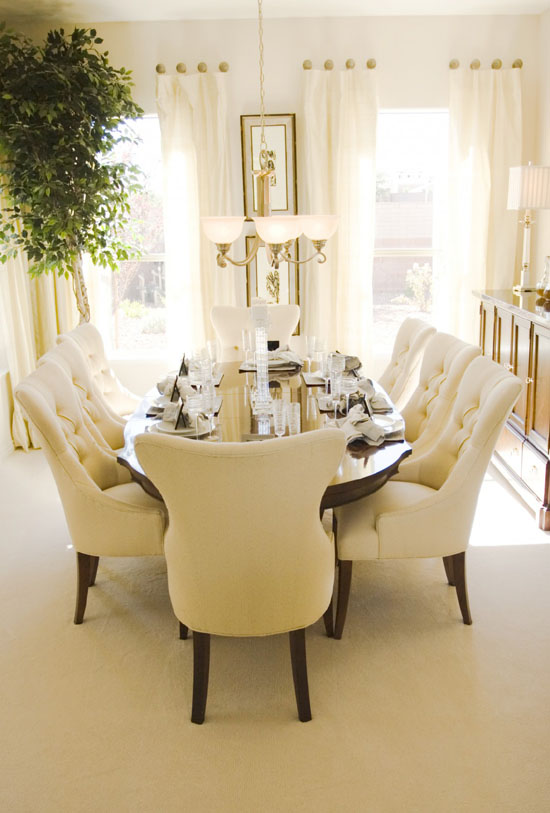 35 Luxury Dining Room Design Ideas