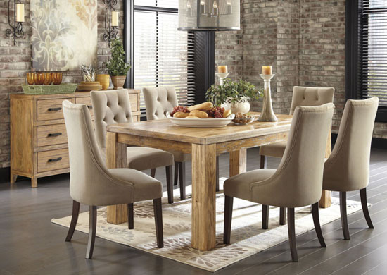Elegant Upholstered Dining Room Chairs