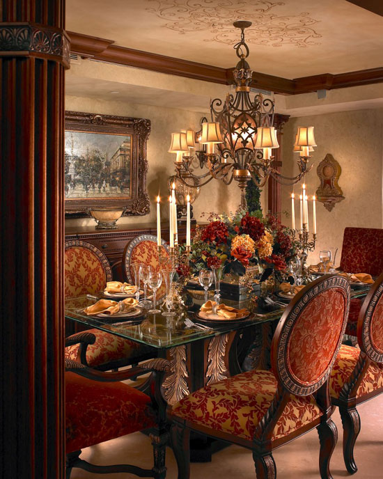 Luxury Dining Room Furniture: 33 Upholstered Dining Room Chairs