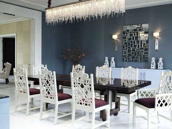 luxury dining room tables modern - Modern Luxury Dining Room