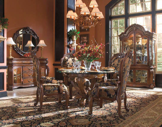 35 luxury dining room design ideas ultimate home ideas for Traditional formal dining room ideas