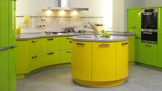 lime green and yellow kitchen 35 eco friendly green kitchen ideas ultimate home ideas 9033