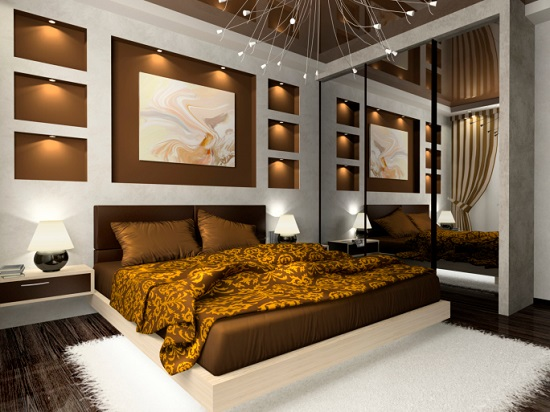 Gold Bedroom