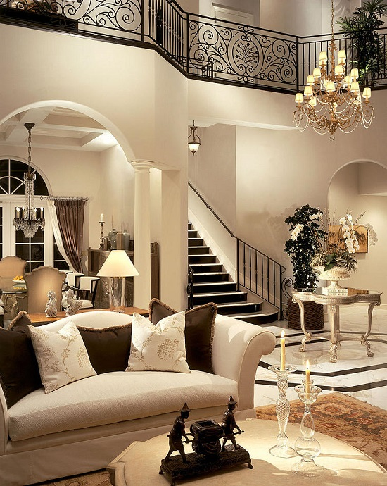 37 fascinating luxury living rooms designs for Stunning interior designs