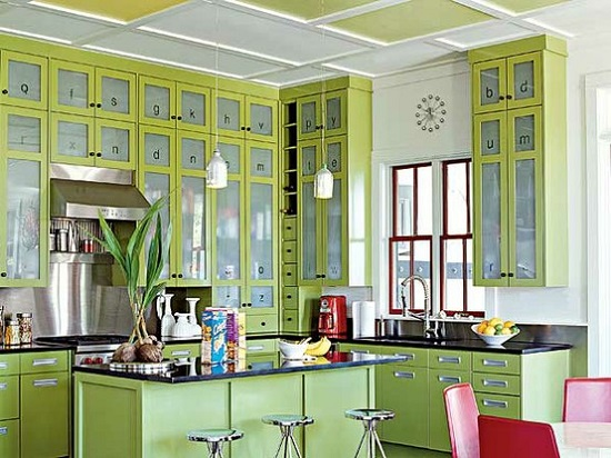 Stunning Lime Green Kitchen Ideas