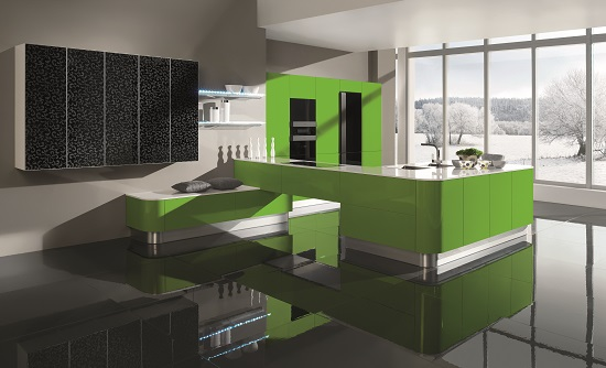 35 eco friendly green kitchen ideas ultimate home ideas for Modern green kitchen designs