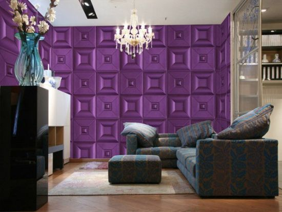 Textured Accent Wall 33 stunning accent wall ideas for living room