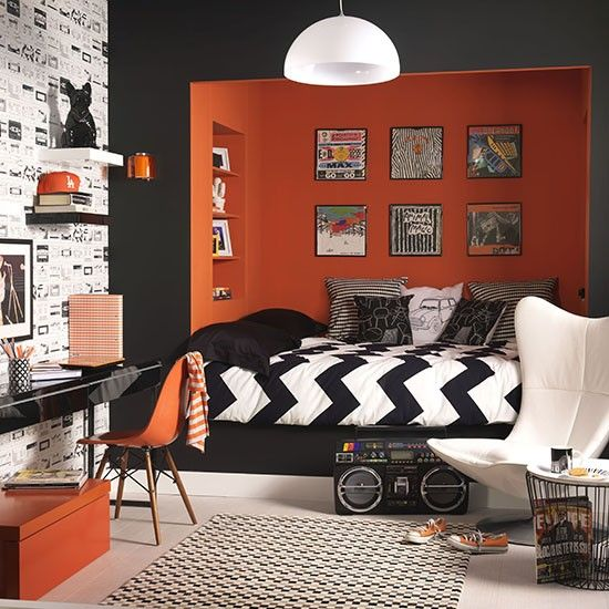 35 cool teen bedroom ideas that will blow your mind for Funky boys bedroom ideas