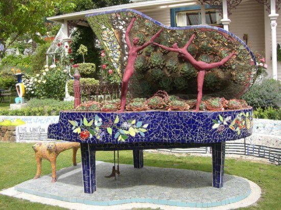 Diy Gardening Ideas 20 diy raised garden bed ideas instructions free plans Diy Garden Idea With Old Piano
