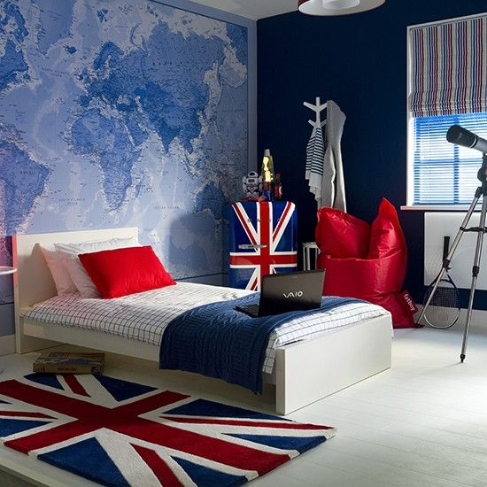 35 cool teen bedroom ideas that will blow your mind for Themed bedroom wallpaper
