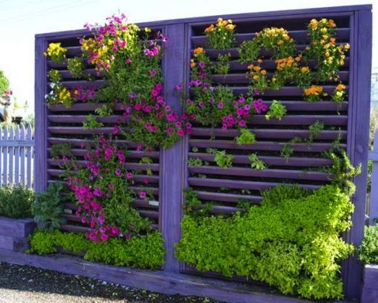 37 creative diy garden ideas ultimate home ideas for Diy vertical garden wall