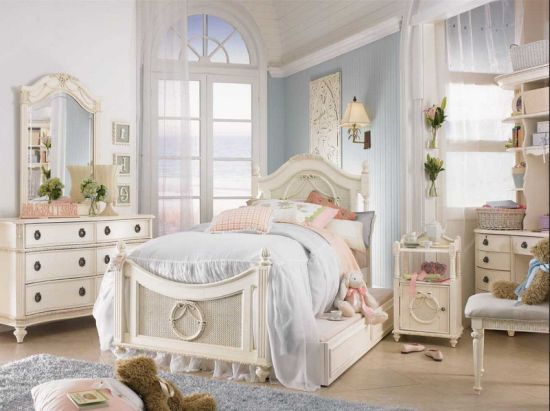 Graceful Vintage Teen Bedroom Decor