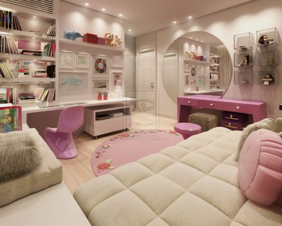 Pink and white girl bedroom decor 35 Cool Teen Bedroom Ideas That Will Blow Your Mind