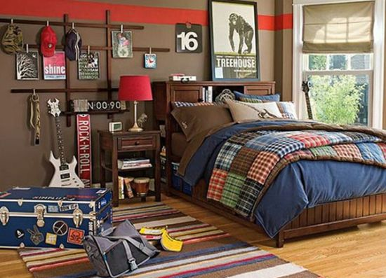 Ideal Rock n roll teen bedroom idea