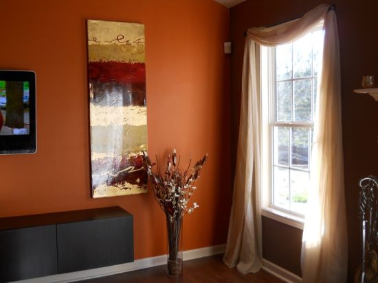 Two Tone Dining Room Walls
