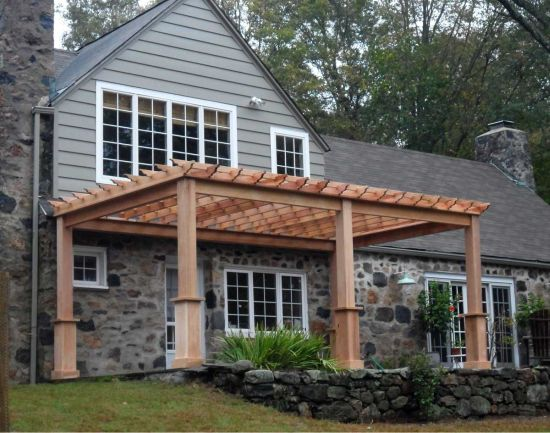 Front Elevation Pergola Design : Beautiful pergola designs ideas ultimate home