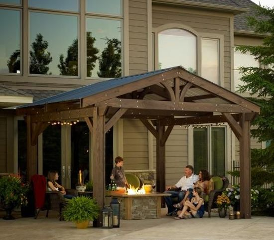 35 beautiful pergola designs ideas ultimate home ideas for Add a room mural gazebo
