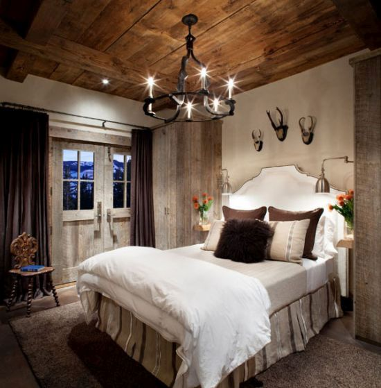 Marvelous Rustic iron chandelier for master bedroom