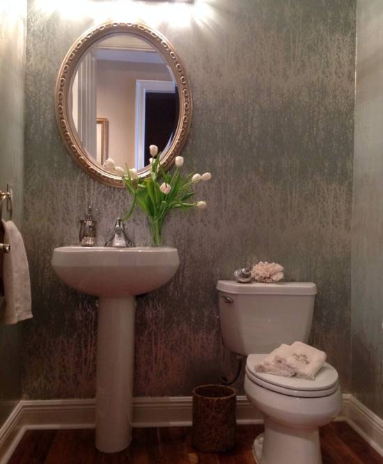 Modern Wallpaper For Bathrooms
