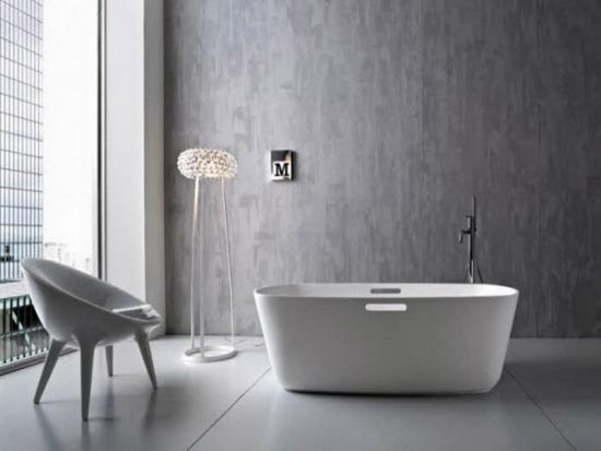35 modern bathroom ideas for a clean look for Bathroom ideas easy