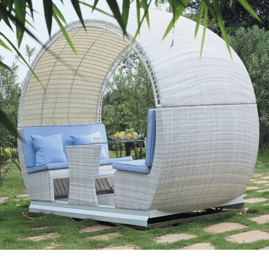 18 modern outdoor wicker furniture ideas - Rocking chair jardin ...