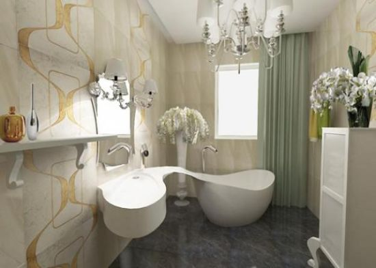 35 modern bathroom ideas for a clean look for Small bathroom renovations pictures
