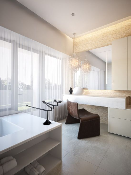 Modern Bathroom Ideas For A Clean Look - Examples of bathroom designs
