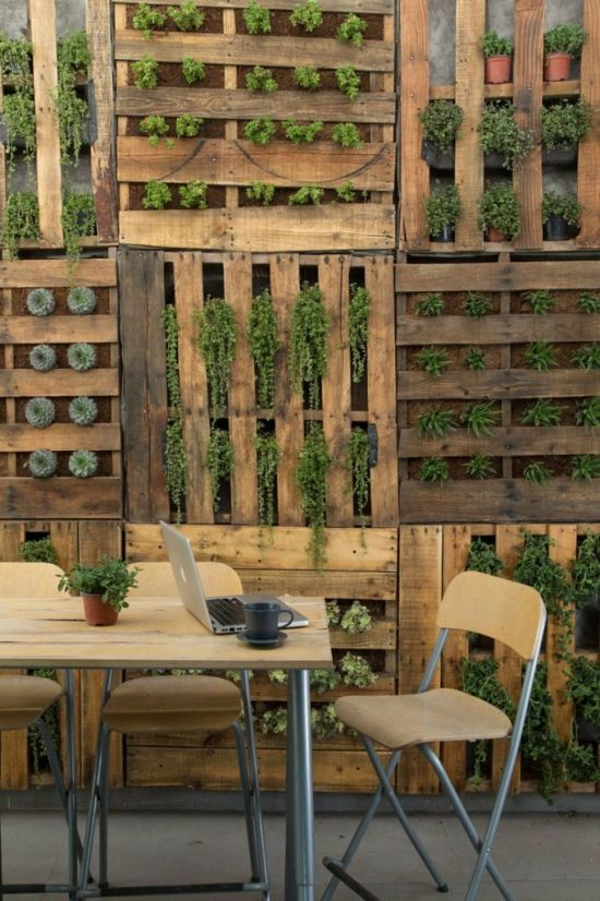 Garden Ideas Using Pallets 35 genius small garden ideas and designs