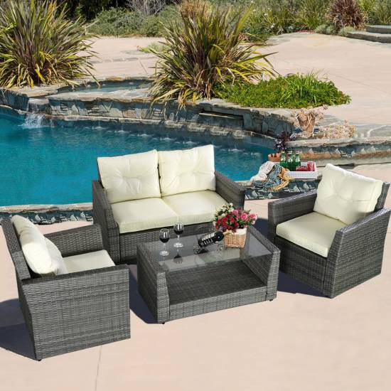 Wicker Garden Furniture