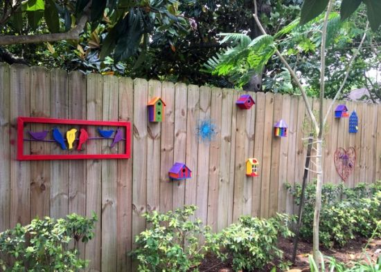Garden Fencing Ideas cheap vegetable garden fence ideas photo 1 Creative Birdhouse Garden Fence Idea