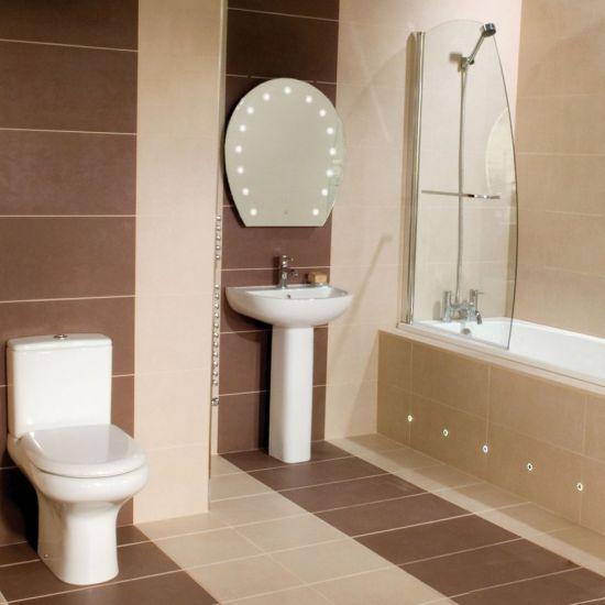 Elegant Bathroom Design For A Swedish Accented Duplex Home