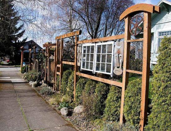 Garden Fencing Ideas Photos