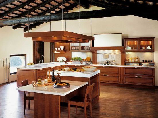 35 exquisite luxury kitchens designs ultimate home ideas - Cocina de madera moderna ...