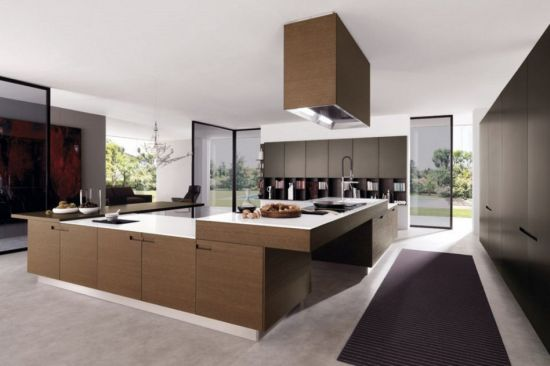 elegant classic contemporary luxury kitchen design - Luxury Kitchen Designs