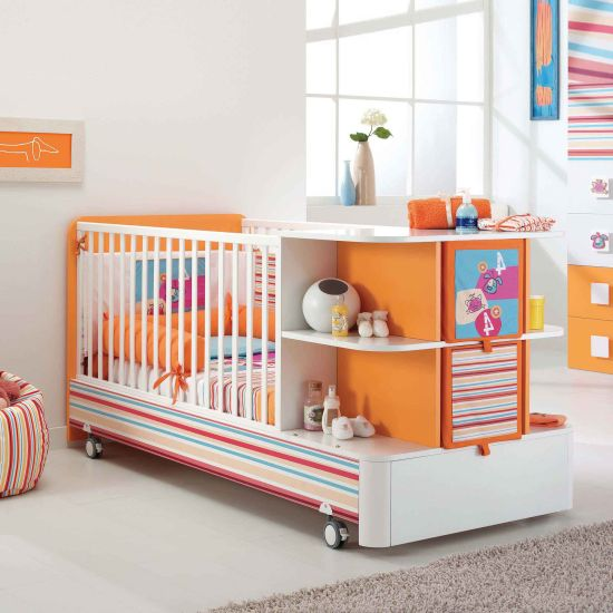 transforming furniture for small spaces. transforming furniture for small spaces baby cot that turns into full bed
