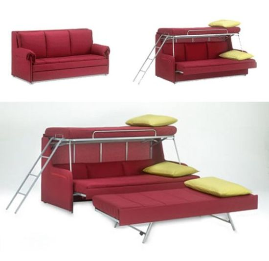 Transforming Space Saving Fold Down Beds For Kids