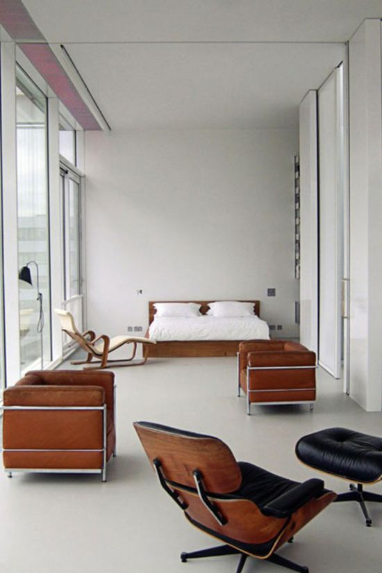 33 art and iconic furniture inspired ideas for your apartment Iconic eames chair