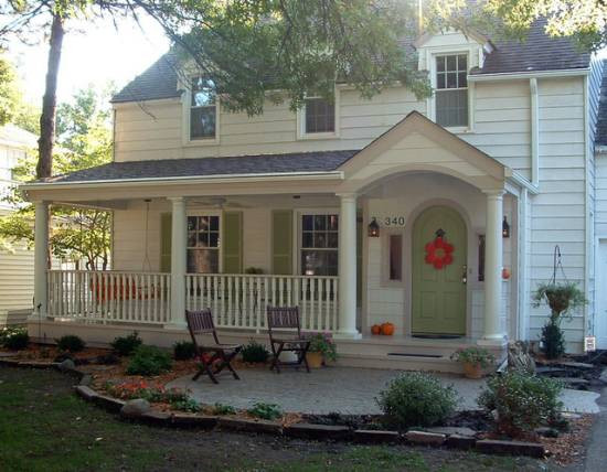 Front Porch Seating Home Design Ideas