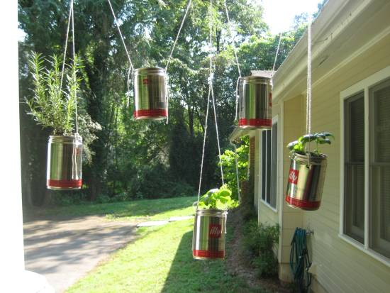 Hanging Herb Garden Ideas