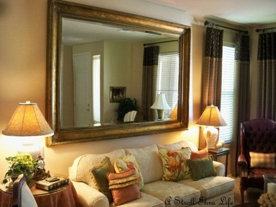 Astonishing large mirror