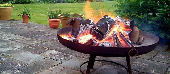 Authentic Indian Fire Pit Bowl