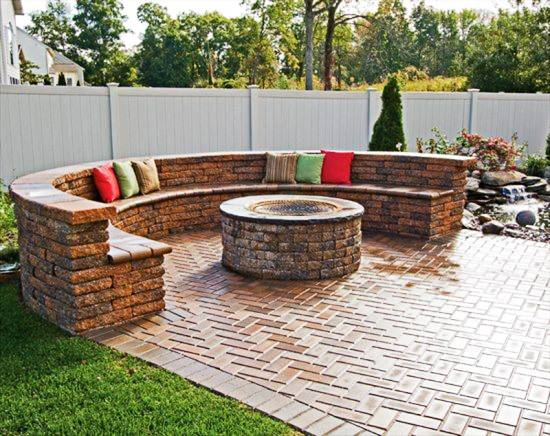 Best Outdoor Fire Pit Patio Design Ideas