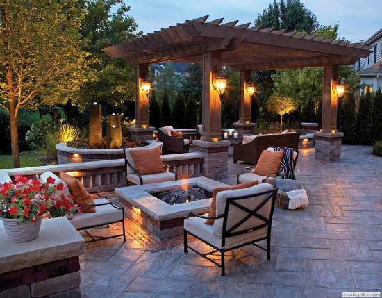 best square fire pit designs - Firepit Ideas