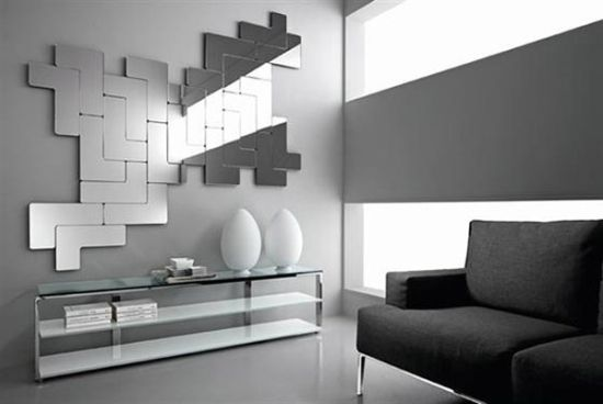 decoration awesome modern mirrors for living room using mirror